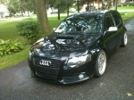 Mark's VW Golf GLS with a full front end conversion to Audi A3 S-line 8P+. Sexy swap indeed. Roll Deep!